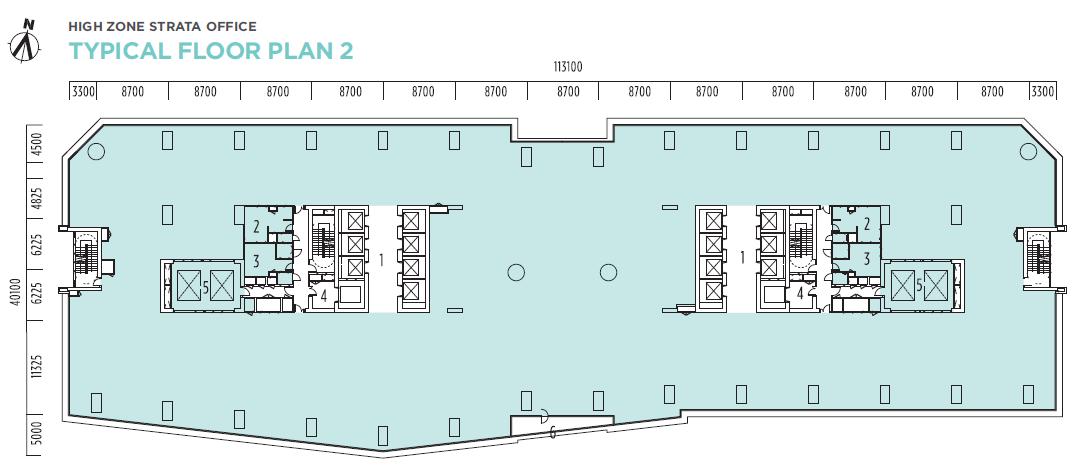 Q Sentral Floor Plan 2