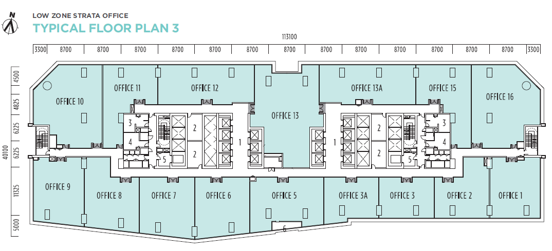 Q Sentral Floor Plan 3